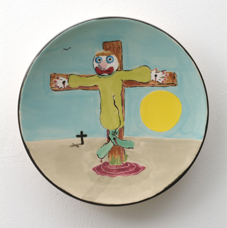 clown-for-Christ-2007-majolica-joost-van-den-toorn